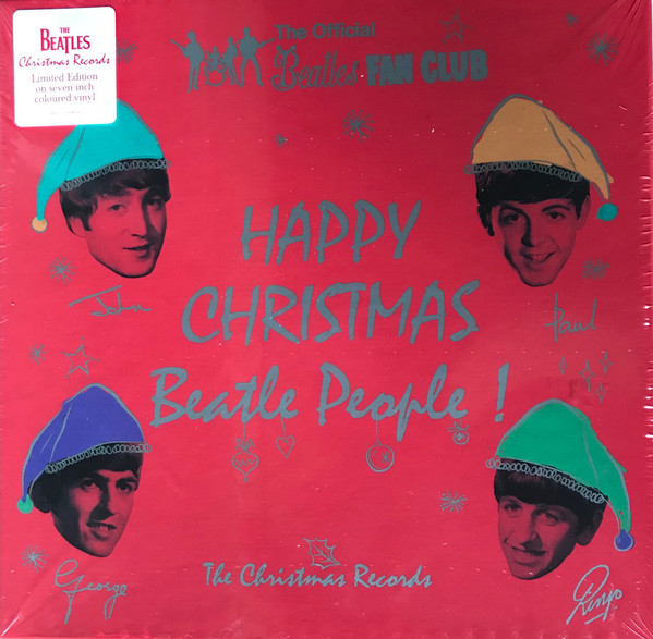 "BEATLES ""happy christmas Beatle people"" 7X45t"