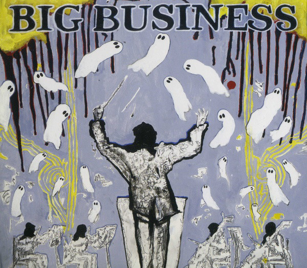 "BIG BUSINESS ""Head for the shallow"" VINYL"