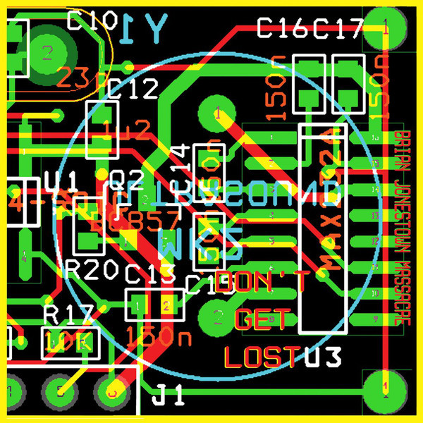 "BRIAN JONESTOWN MASSACRE ""Don't get lost"" 2LP"