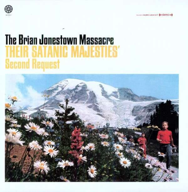 "BRIAN JONESTOWN MASSACRE ""Their satanic majesties"" 2LP"