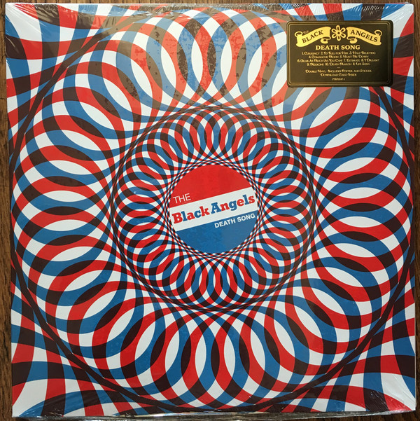 "BLACK ANGELS ""Death song"" DOUBLE VINYL"