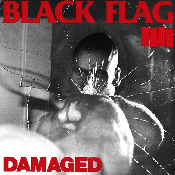 "BLACK FLAG ""Damaged"" LP"