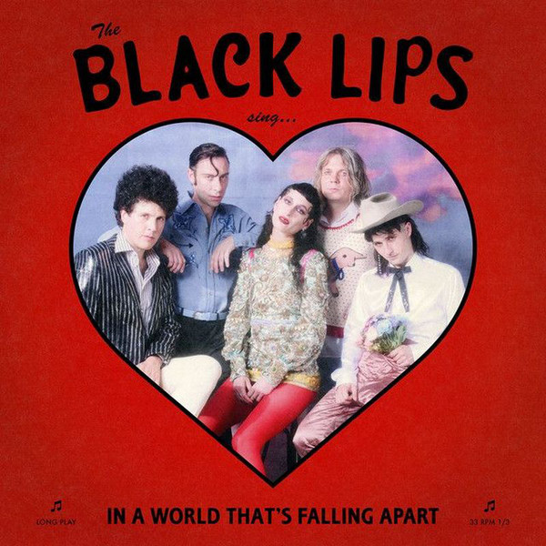 "BLACK LIPS ""In a world that's falling apart"" CD"