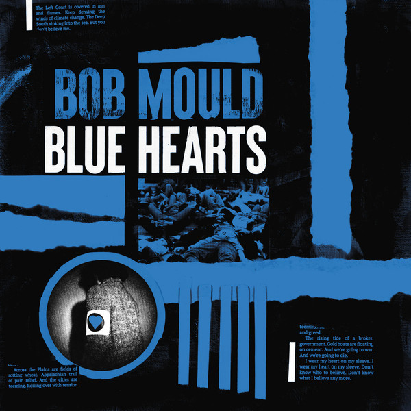 "BOB MOULD ""Blue hearts"" VINYL"
