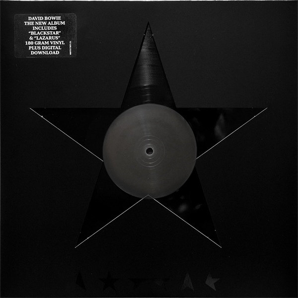 "DAVID BOWIE ""Blackstar"" VINYL"