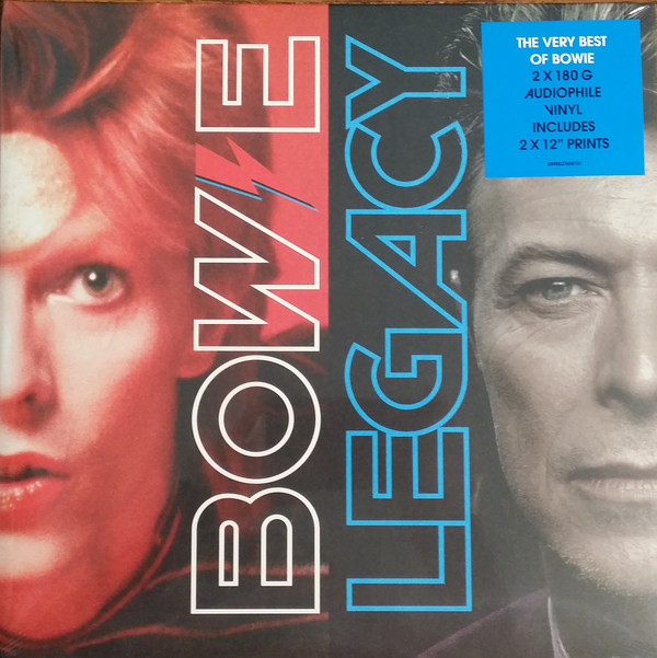"DAVID BOWIE ""Legacy"" DOUBLE VINYL"