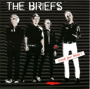 "BRIEFS ""Steal yer heart"" CD"