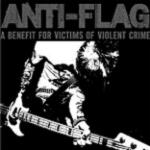 "ANTI-FLAG ""A benefit for victims of violent crime"" CD"