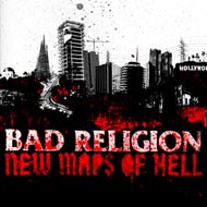 "BAD RELIGION ""New maps of hell"" VINYL"