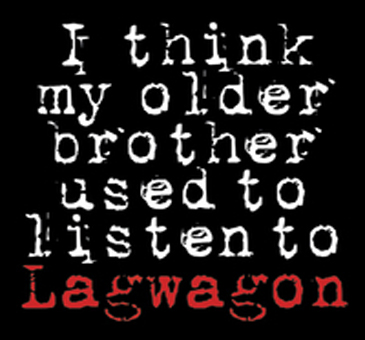 "LAG WAGON ""I think my older brother used to listen to"" CD"