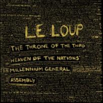 "LE LOUP ""The throne of the third"" CD"