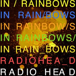"RADIOHEAD ""In rainbows"" VINYL"