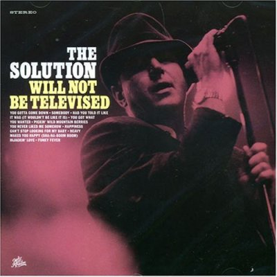 "THE SOLUTION ""Will not be televised"" CD"