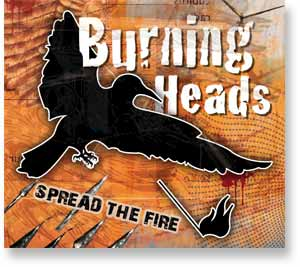 "BURNING HEADS ""Spread the fire"" CD"