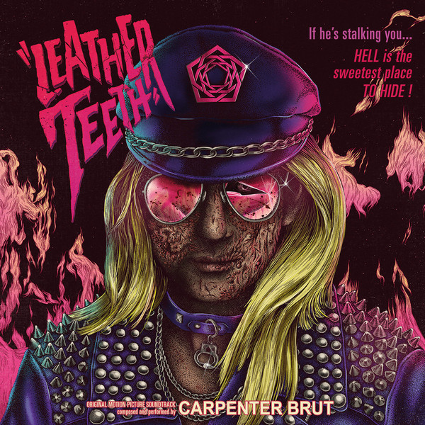 "CARPENTER BRUT ""Leather teeth"" VINYL"