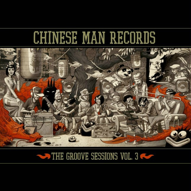 "VA ""Chinese man records groove sessions 3"" TRIPLE VINYL"