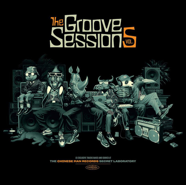 "CHINESE MAN ""Groove sessions Vol 5"" CD"