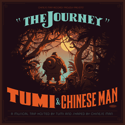 "TUMI & CHINESE MAN ""The journey"" DOUBLE VINYL"