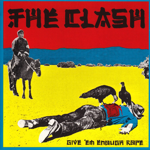 "THE CLASH ""Give'em enough rope"" VINYL"