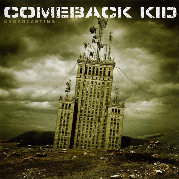 "COMEBACK KID ""Broadcasting"" CD"
