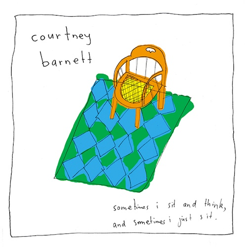 "COURTNEY BARNETT ""Sometimes i sit and think.."" LP"