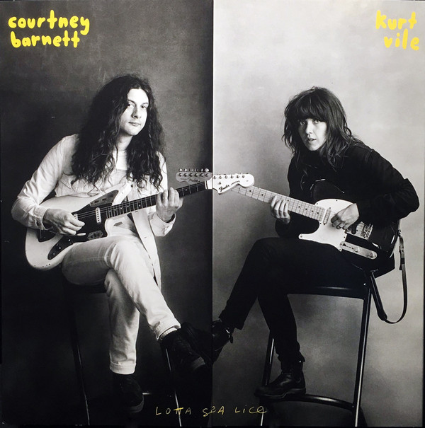 "COURTNEY BARNETT & KURT VILE ""Lotta sea lice"" CD"