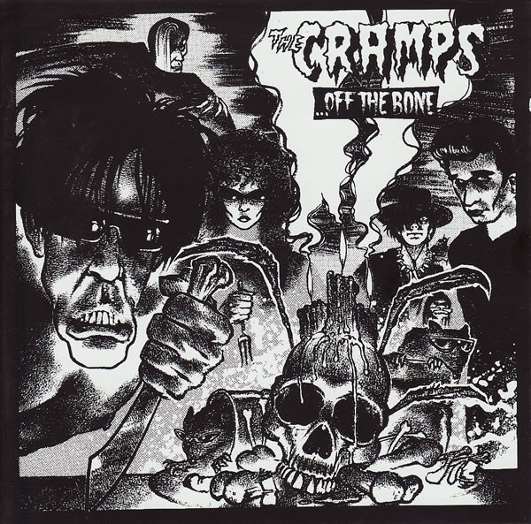 "CRAMPS ""Off the bone"" CD"