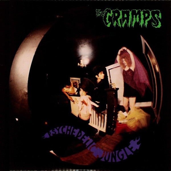 "CRAMPS ""Psychedelic jungle"" CD"