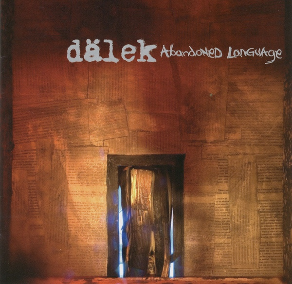 "DALEK ""Abadoned language"" CD"