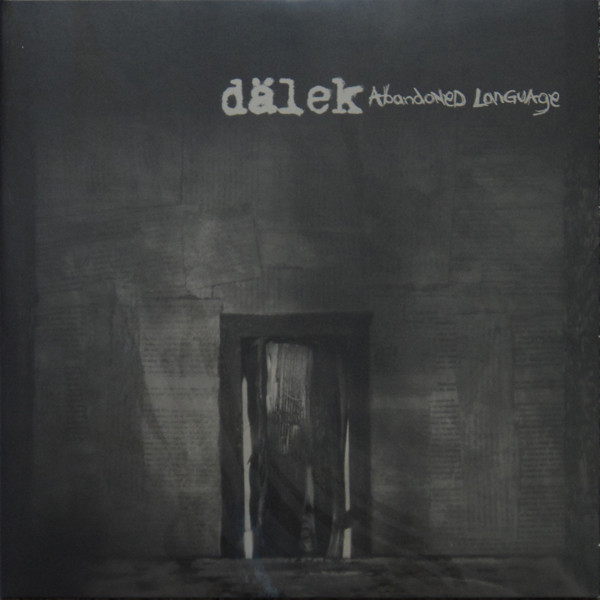 "DALEK ""Abadoned language"" 2LP"