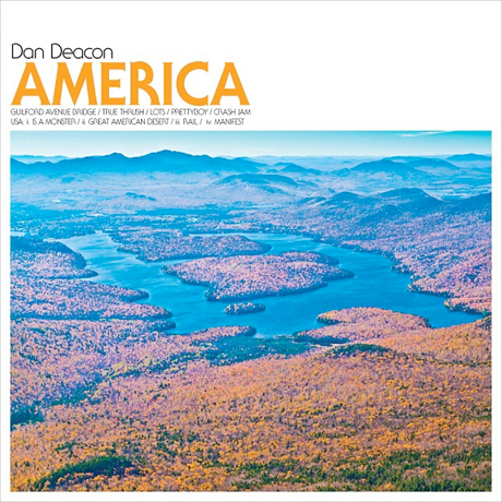 "DAN DEACON ""America"" CD"