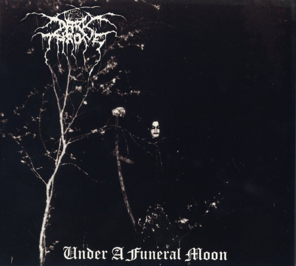 "DARKTHRONE ""Under a funeral moon"" CD"