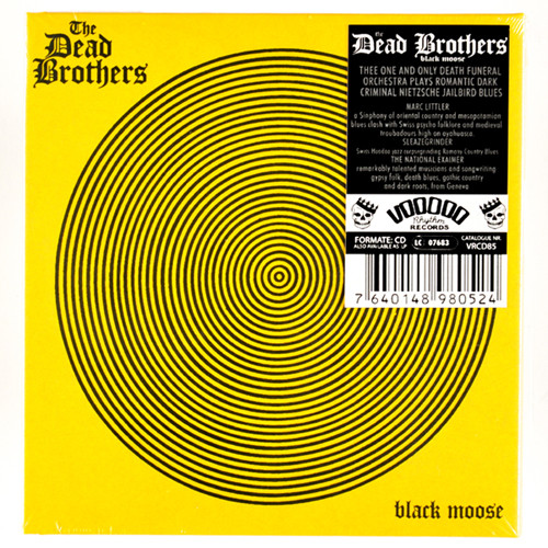 "DEAD BROTHERS ""Black moose"" LP"