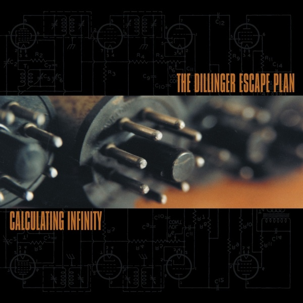"DILLINGER ESCAPE PLAN ""Calculating infinity"" CD"