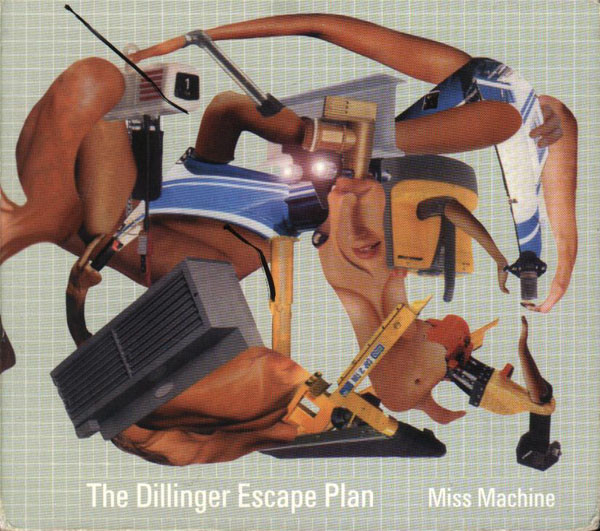 "DILLINGER ESCAPE PLAN ""Miss machine"" CD"