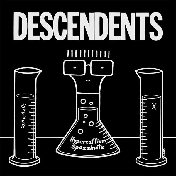 "DESCENDENTS ""hypercaffium spazzinate"" VINYL"