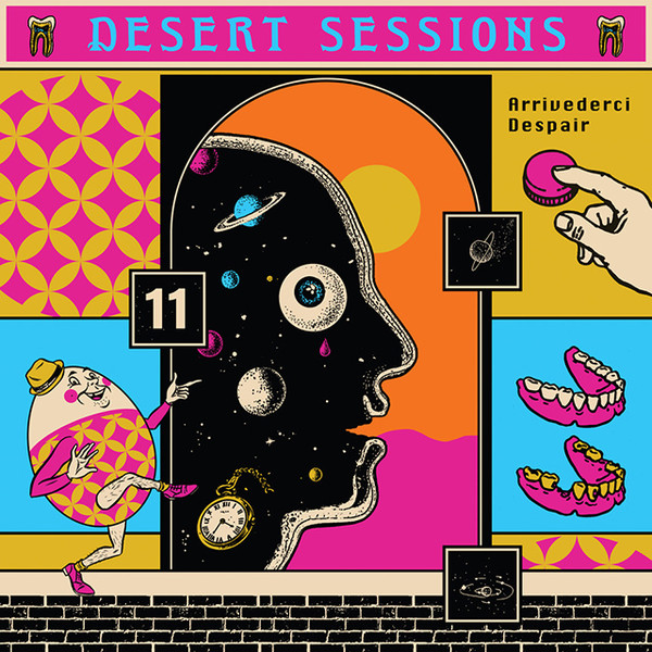 "DESERT SESSIONS ""Volume 11 & 12"" CD"