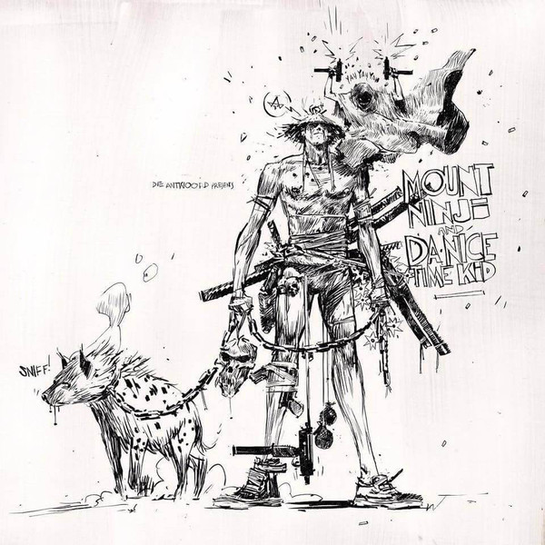 "DIE ANTWOORD ""Mount ninji and da nice time kid"" DOUBLE VINYL"