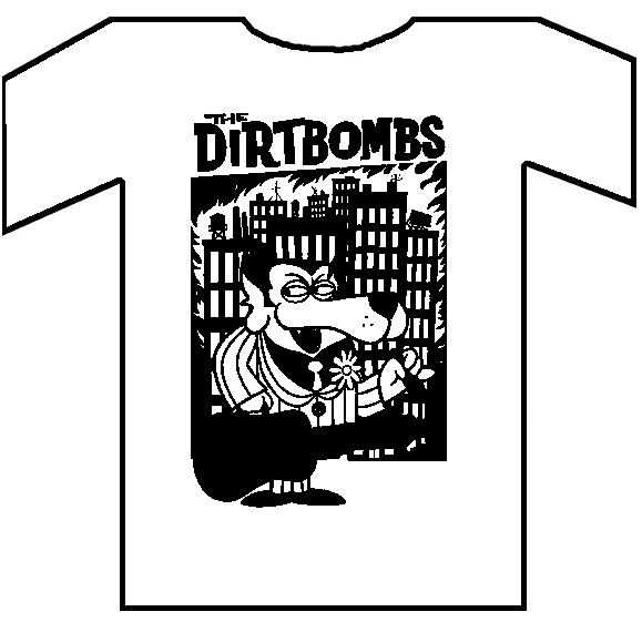 "DIRTBOMBS ""Dog"" TS"