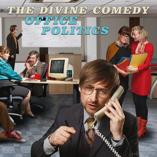 "THE DIVINE COMEDY ""Office politics"" DOUBLE VINYL"