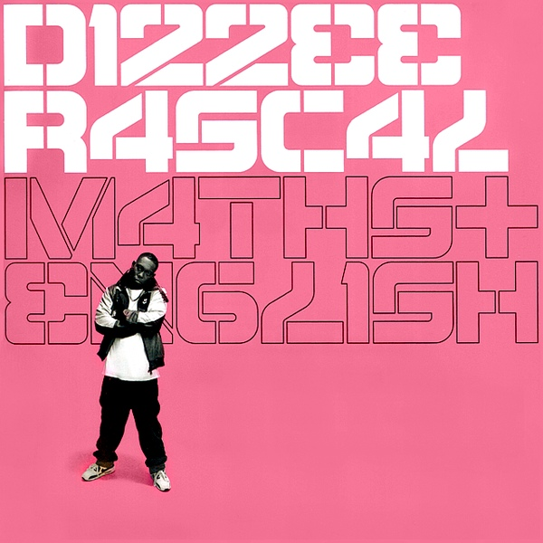 "DIZZEE RASCAL ""Maths & english"" CD"
