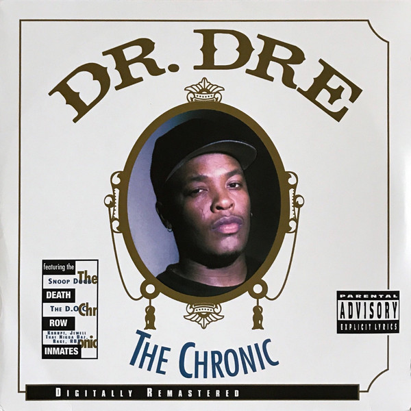 "DR.DRE ""The chronic"" DOUBLE VINYL"