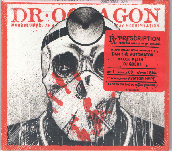 "DR.OCTAGON ""Moosebumps"" CD"