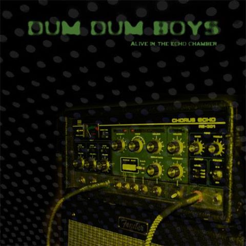 "DUM DUM BOYS ""Alive in the echo chamber"" VINYL"
