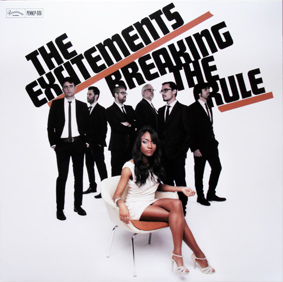 "THE EXCITEMENTS ""Breaking the rule"" VINYL"