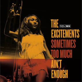 "THE EXCITEMENTS ""Sometimes too much ain't enough"" LP"