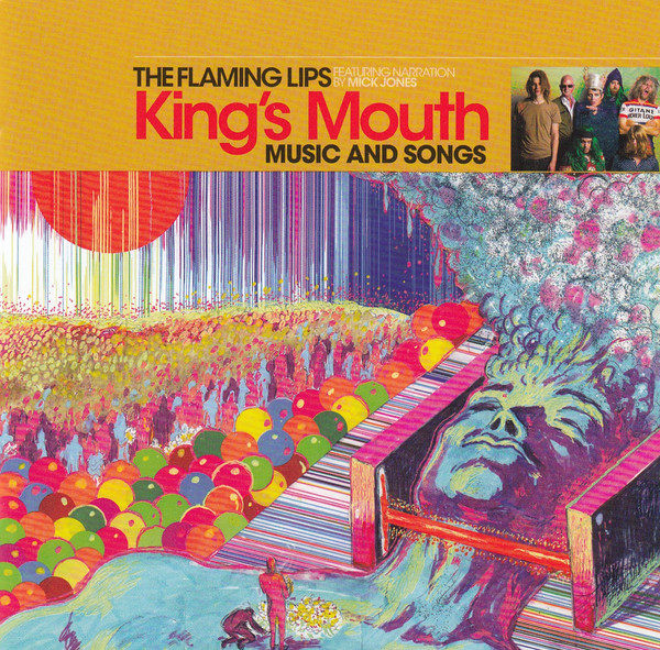 "THE FLAMING LIPS ""King's mouth"""