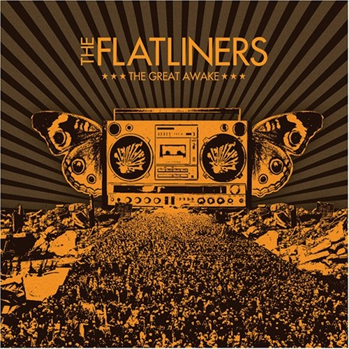 "FLATLINERS ""The great awake"" CD"