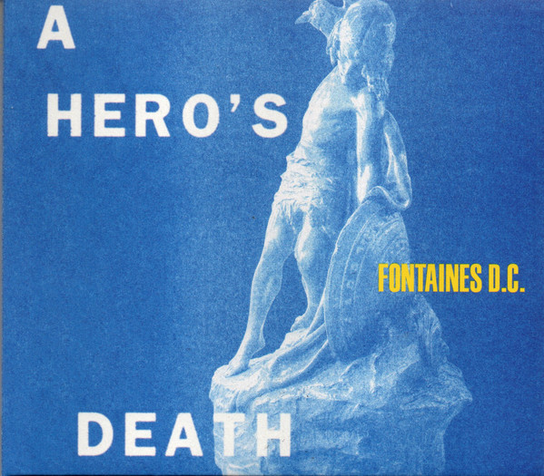 "FONTAINES D.C. ""A hero's death"" CD"