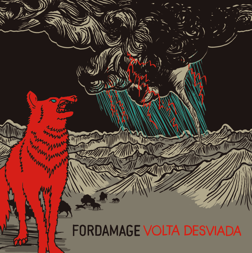 "FORDAMAGE ""Volta desviada"" CD"